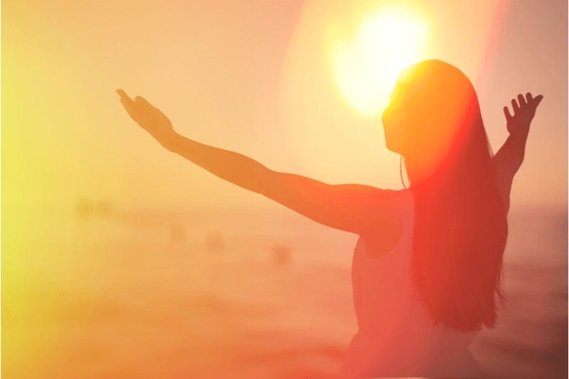 Gratidão, e uma vida positiva